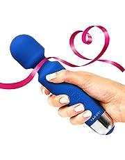 Yarosi terapeutica massaggiatore Yarosi - terapeutico Vibrante Potenza - miglior punteggi per il regalo Viaggi -Perfetto per dolori muscolari - Blu
