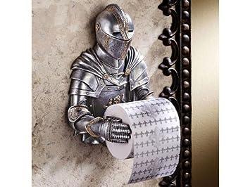 Schön Toilettenpapier Halter als historischer Ritter: Amazon.de  EK92