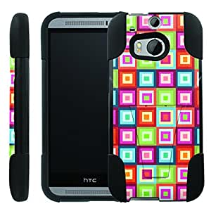[ManiaGear] Rugged Armor-Stand Design Image Protect Case (Wild Color Pattern ) for HTC One M8