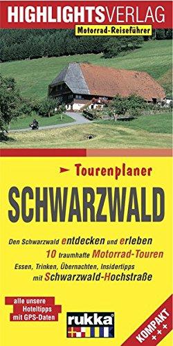 Schwarzwald: Den Schwarzwald entdecken und erleben, 10 Motorradtouren durch den Schwarzwald Taschenbuch – 1. November 2016 Martin Schempp Sylva Harasim Highlights-Verlag 3933385539