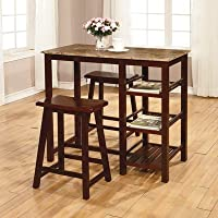 3-Pc. Tavern Set - Table and 2 Chairs, Expresso