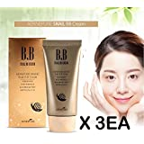 [Aenepure] Snail BB cream 50ml X 3EA / SPF50+ PA +++ / Whitening, Anti-Wrinkle, Sun protection / Korean Cosmetics