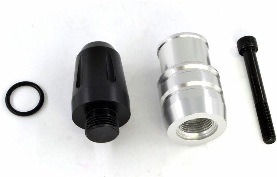 CNC BJ Global Par de protectores para tubo de escape de motocicleta para Kawasaki Z1000/Z1000SX