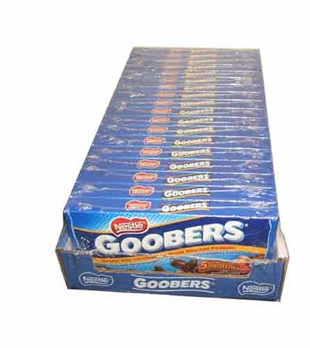 - Nestle Goobers Movie Theatre Concession Size Candy (18 count)