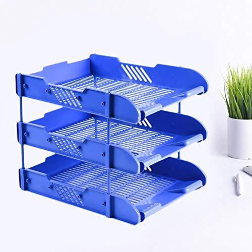 $17.80 Desk Organizer 3 Trays File Holder File Tray