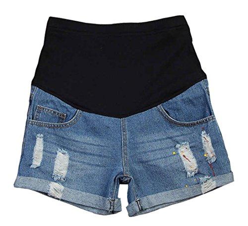Woman Maternity Denim Shorts - 5