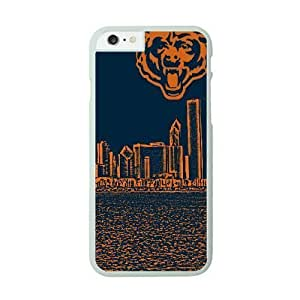 Best Diy iPhone 6 Plus White cell phone case cover Chicago Bears NFL Generic cell phone PJCg9XIBHxx case covers protective
