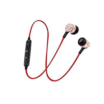 Homyl Auriculares Bluetooth con Cable USB diseño de Botón de Metal Elegante Accesorios Multiusos: Amazon.es: Electrónica