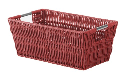 plastic basket red - 5