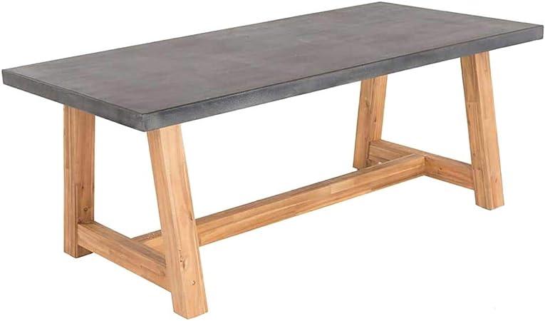 : Veltis Gartentisch 250x100cm AkazieBeton