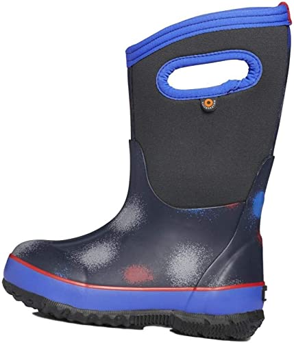 BOGS Kids Classic Print Waterproof Rain Boot