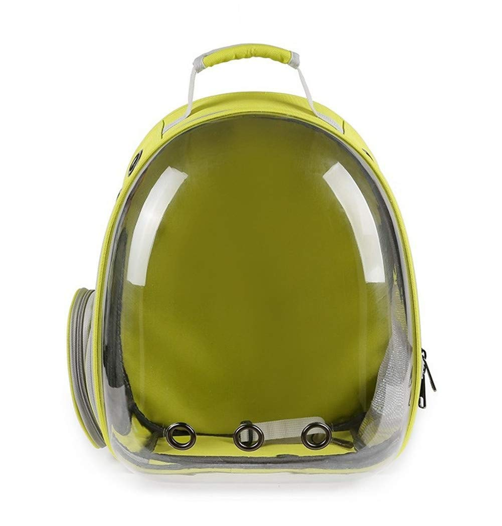 C Portable Space Capsule Pet Carrier Backpack, Pet Bubble Traveler Knapsack Multiple Air Holes Waterproof Lightweight Bag for Small Cats Dogs,C