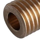 Mxfans 0.5 Modulus Brass Worm Wheel 6mm Aperture