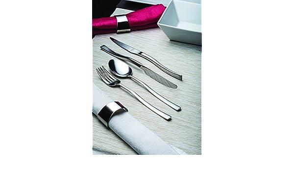 Amazon.com | idurgo Olso Ref. 18300 Cutlery Set, Stainless Steel: Dinnerware Sets