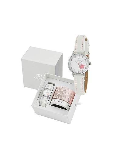9e0cb5dc6f9e Conjunto Reloj Marea Niña B41249 4 Altavoz Bluetooth  Amazon.es  Relojes