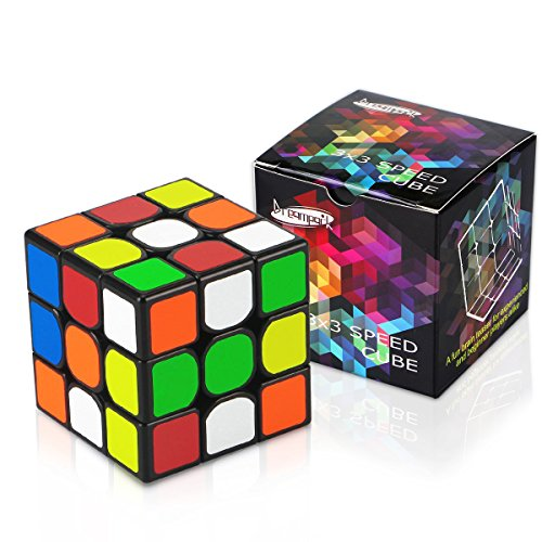 Dreampark 3x3 Speed Cube Sticker Puzzle Cube for Kids and Adults Vivid - Birthday Gifts for Kids Toys
