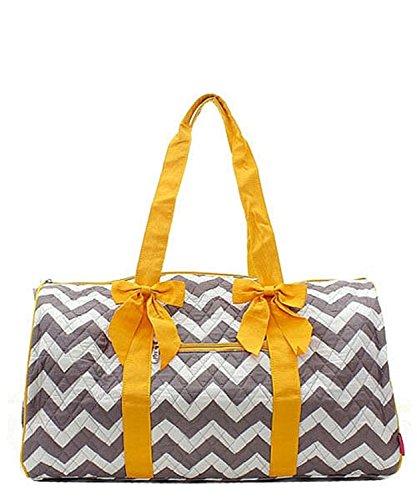 Handbag Inc Quilted Chevron Stripe Large 20