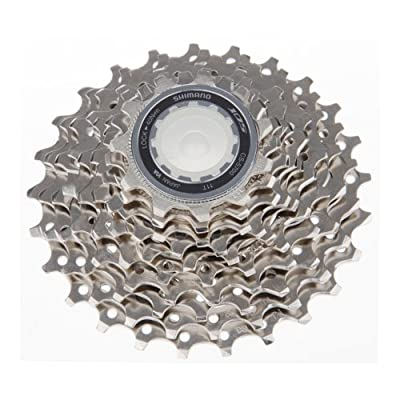 Shimano cassette 105 10 speed silver