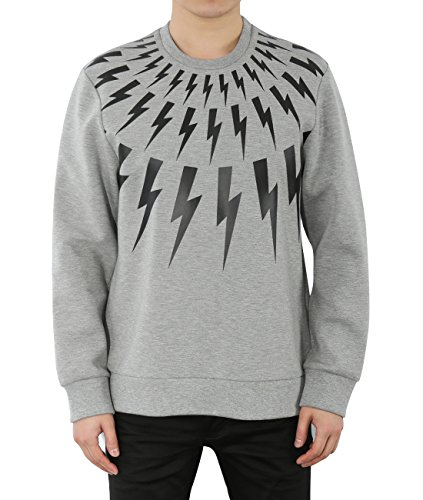 wiberlux-neil-barrett-mens-back-to-back-thunder-print-sweatshirt-m-gray