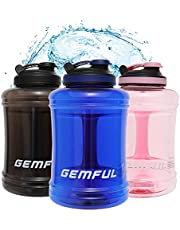 Large Water Bottle 85 oz Water Jug Wide Mouth 2.5L BPA-Free Gym Sports Hydro Jug for Outdoor and Home Drinking