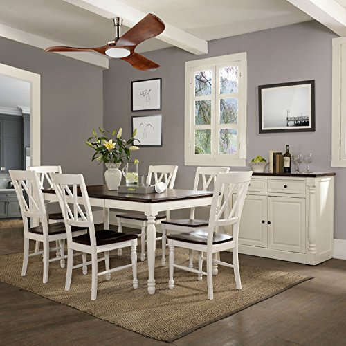 Crosley Furniture KF20001-WH Shelby 7-Piece Dining Set, White by Crosley Furniture (Image #6)