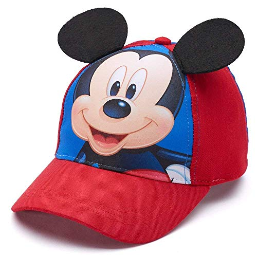 Disney Mickey Mouse Toddler Boy 3D Embroidered Baseball -