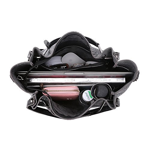 Synthetic Black1 Soft Bags Obosoyo Tote Leather Women's Hot Shoulder Handbag qxxaR7E