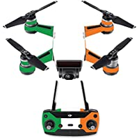 Skin for DJI Spark Mini Drone Combo - Irish Flag| MightySkins Protective, Durable, and Unique Vinyl Decal wrap cover | Easy To Apply, Remove, and Change Styles | Made in the USA