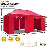 ABCCANOPY Canopy Tent 10x20 Pop Up Canopy Tent