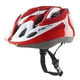 Joyutoy Kids Cycling Bike Helmet Integrated Ultralight Adjustable Safety Bicycle Helmets (Red)