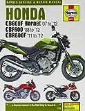 Honda CB600F Hornet, CBF600 & CBR600F Service and Repair Manual (Haynes Service and Repair Manuals) by Matthew Coombs (2013-02-13)