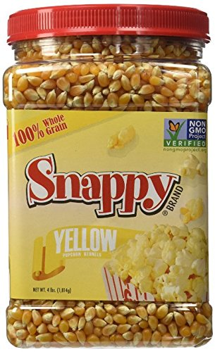 Snappy Yellow Popcorn, 4 Pounds