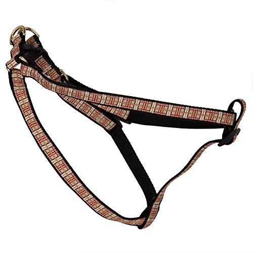 Plaid Dog Harness - X-Small