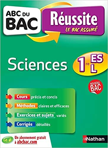 Sciences 1re ES-L (ABC du Bac Réussite): Amazon.es: Annaïg Anquetil, Nicolas Cohen, Anne-Laure Havé: Libros en idiomas extranjeros