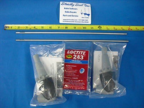 Hobie Mirage Drive GTT Sprocket/Mast Kit Turbo