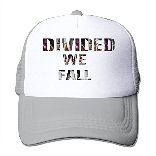 Custom Personalized Two-toned Divided We Fall Travel Caps - Arizona Directions Mills