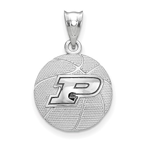 - Sterling Silver Purdue University Basketball Pendant Indiana 16 mm 25 mm Pendants & Charms Jewelry