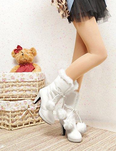 black uk6 al libre botas 5 5 mujer botas cn43 de de rosa pink uk8 moda blanco negro botas eu42 talón aire Casual us8 xzz boda 5 cn40 zapatos us10 talones 5 eu39 qwOPC4