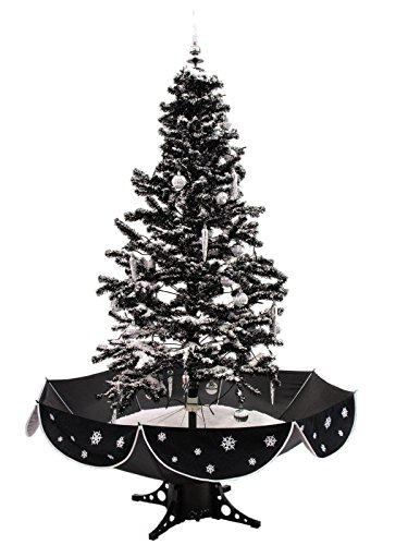 - 170cm Cascading Black Snow Christmas Tree: Amazon.co.uk: Kitchen & Home