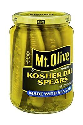 MT. OLIVE Kosher Dill Spears Fresh Jar, 24 oz