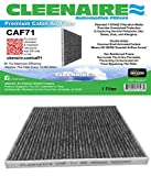 Cleenaire CAF71 The Most Advanced Protection Against SMOG Bacteria Dust Viruses Allergens Gases Odors, Cabin Air Filter For Ford 13-17 Fusion 13-16 MKZ 15-16 Edge 16 MKX
