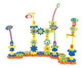 robots building - Learning Resources Gears! Gears! Gears! Robot Factory Building Set, 80 Pieces