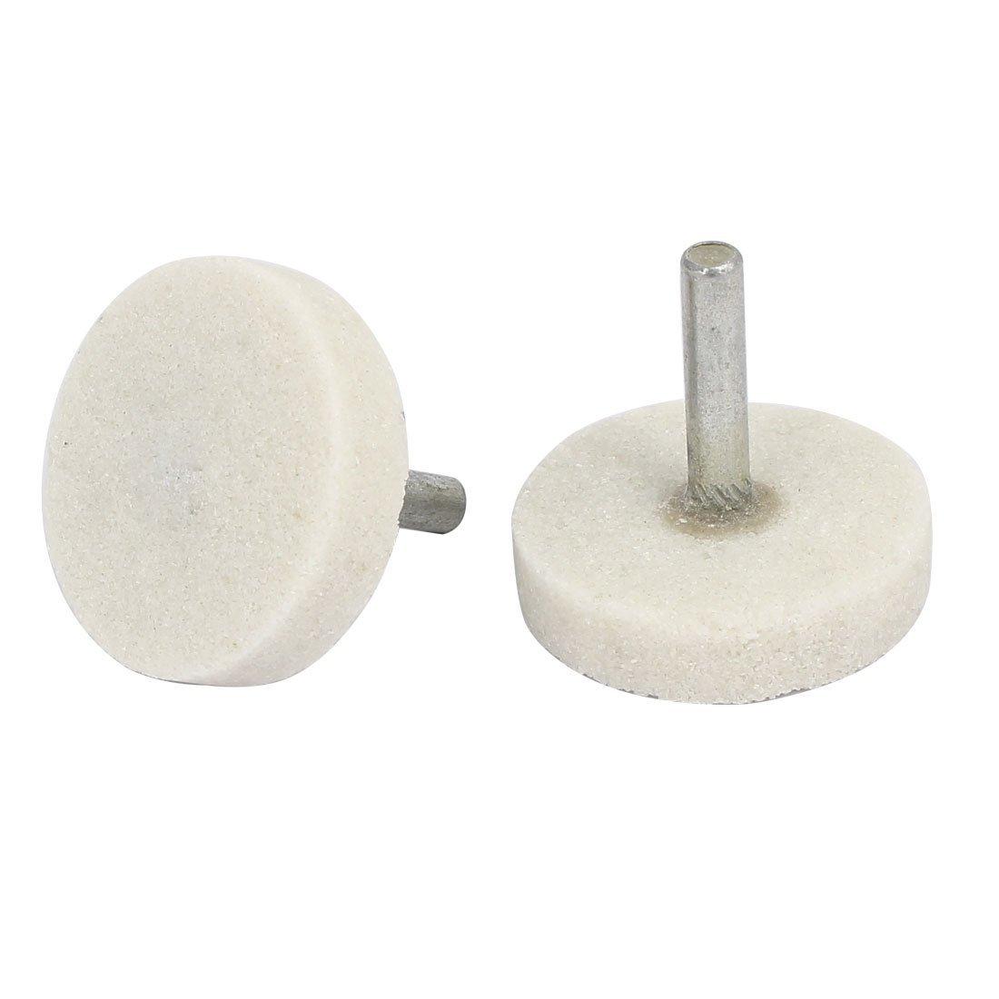 Amazon.com: DealMux 6 milímetros Shank 40 milímetros Chefe Dia T Tipo Mandril Montado 6pcs Grinding ponto branco: Automotive