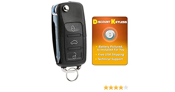 Discount Keyless Replacement Uncut Car Remote Fob Key Combo Compatible with CWTWB1U212 CWTWBU322 CWTWB1U331 GQ43VT11T CWTWB1U345