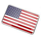 Car Styling 3D American USA US Flag Emblem Sticker Aluminum Alloy Car Badge Decal Sticker