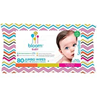 bloom BABY Sensitive Skin 80-Count Baby Wipes