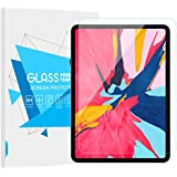 TiMOVO iPad Pro 11 Screen Protector - Anti-Scratch Premium HD Clear 9H Hardness Bubble-Free Installation Ultra Clear Tempered Glass Film for Apple iPad Pro 11 Inch 2018 Tablet, Clear