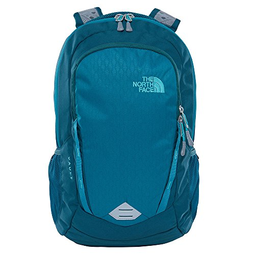 The North Face Women's Vault Backpack - Harbor Blue Emboss/Atlantic Deep Blue - One Size (Past Season) Atlantic Backpack