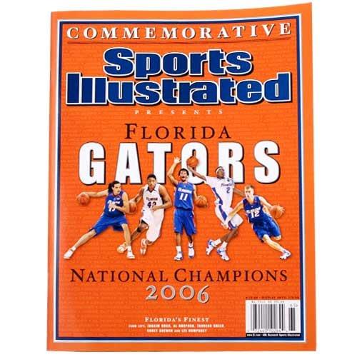 Sports Illustrated Florida Gators 2006 National Champions Commemorative Magazine - Florida Gators 2006 Football