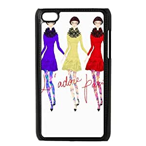 iPod Touch 4 Case Black J'ADORE PARIS JSK919779